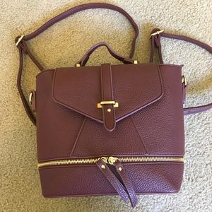 Charming Charlie Bags - Charming Charlie wine color backpack